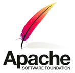 Powerd by Apache logo